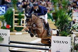 Giesteira Almeida Rodrigo, POR, Hassan van de Wittemoere<br /> Gothenburg Horse Show FEI World Cups 2017<br /> © Hippo Foto - Stefan Lafrentz<br /> 26/02/17