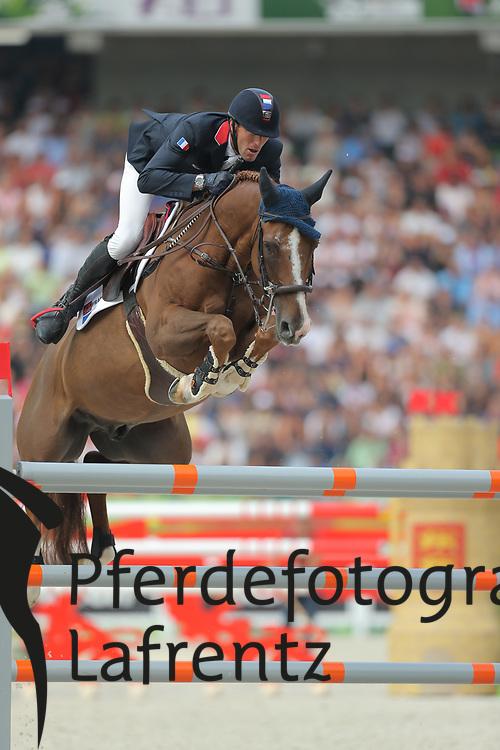 Staut, Kevin, AD Clouwni<br /> Normandie - WEG 2014<br /> Springen - Finale III<br /> © www.sportfotos-lafrentz.de/ Stefan Lafrentz