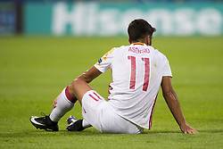 June 20, 2017 - Gdynia, Poland - Marco Asensio of Spain during the UEFA European Under-21 Championship 2017  Group B match between Portugal and Spain at Gdynia Stadium in Gdynia, Poland on June 20, 2017  (Credit Image: © Andrew Surma/NurPhoto via ZUMA Press)