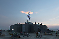 For a minute I thought it looked like the man had a hat on... My Burning Man 2018 Photos:<br />