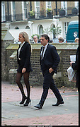 LADY ELOISE ANSON; LOUIS WAYMOUTH, Memorial service for Mark Shand.  . St. Paul's Knightsbridge. September 11 2014.