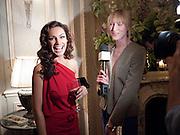 KELLY BROOK; JADE PARFITT, Dinner to mark 50 years with Vogue for David Bailey, hosted by Alexandra Shulman. Claridge's. London. 11 May 2010