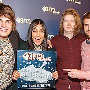 NLD/Utrecht/20150409 - Uitreiking 3FM Awards 2015, Mister and Mississippi en hun award