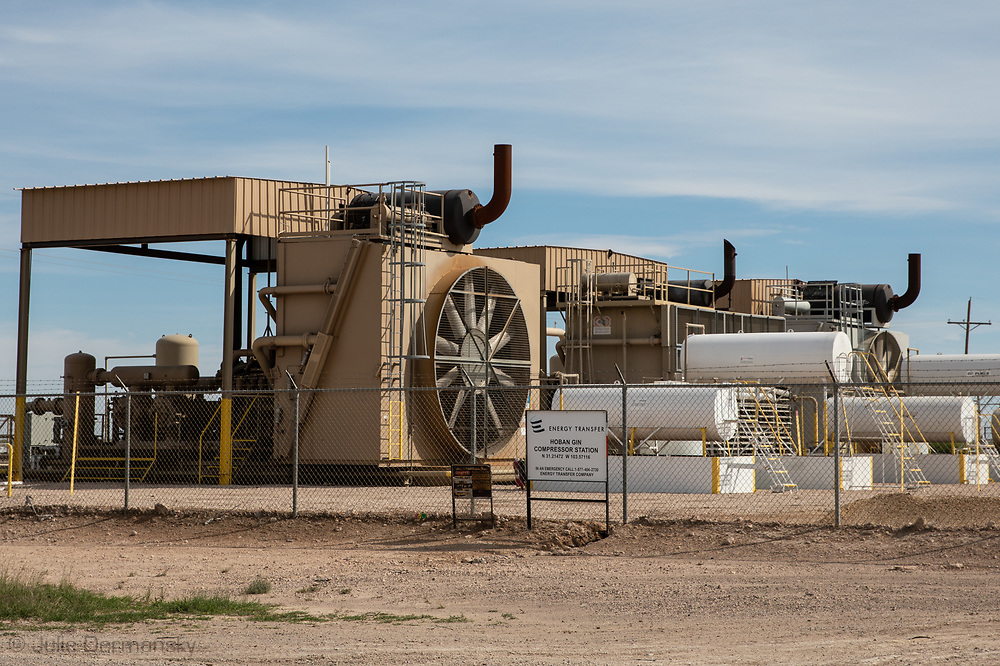 Energy Transfer Partners site in the Permian Basin in Texas.