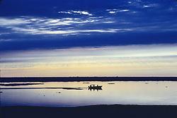 Inupiat Hunting & Fishing On Arctic Ocean