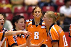 17-06-2000 JAP: OKT Volleybal 2000, Tokyo<br /> Nederland - Italie 2-3 / Marrit Leenstra
