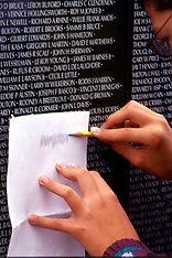 Vietnam Moving Wall Memorial Editorial and Stock Photos