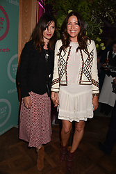 Roni Ancona and Lisa Snowdon at the 2017 Fortnum & Mason Food & Drink Awards held at Fortnum & Mason, Piccadilly London England. 11 May 2017.<br /> Photo by Dominic O'Neill/SilverHub 0203 174 1069 sales@silverhubmedia.com