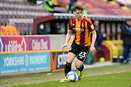 Bradford City Connor Wood (23) full length portrait during the EFL Sky Bet League 2 match between Bradford City and Scunthorpe United at the Utilita Energy Stadium, Bradford, England on 1 May 2021.