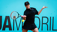 Anastasia Pavlyuchenkova of Russia in action during the third round at the Mutua Madrid Open 2021, Masters 1000 tennis tournament on May 4, 2021 at La Caja Magica in Madrid, Spain - Photo Rob Prange / Spain ProSportsImages / DPPI / ProSportsImages / DPPI