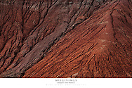 20x30 poster print of abstract erosion pattern in red rock.