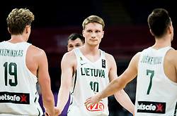 Marius Grigonis of Lithuania during basketball match between National Teams of Lithuania and Greece at Day 10 in Round of 16 of the FIBA EuroBasket 2017 at Sinan Erdem Dome in Istanbul, Turkey on September 9, 2017. Photo by Vid Ponikvar / Sportida