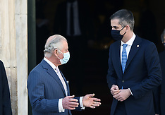 Prince Charles visits Greece, Athens, 25 March 2021