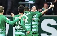 2:0 Jubel Torschuetze Max Kruse (Bremen)<br /> Bremen, 04.03.2017, Fussball, Bundesliga, SV Werder Bremen - SV Darmstadt 98 2:0<br /> Norway only