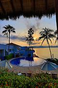 Sunrise, Punta Serena Villas and Spa, Costalegre, Jalisco, Mexico