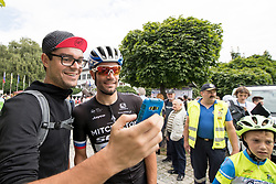Luka Mezgec of Mitchelton Scott with fans during 3rd Stage of 25th Tour de Slovenie 2018 cycling race between Slovenske Konjice and Celje (175,7 km), on June 15, 2018 in  Slovenia. Photo by Matic Klansek Velej / Sportida