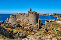France, Vendée (85), Ile d'Yeu, le Vieux Chateau // France, Vendée, Yeu island, The Old Castle