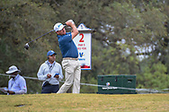 Graeme McDowell (NIR) watches his tee shot on 2 during Round 3 of the Valero Texas Open, AT&T Oaks Course, TPC San Antonio, San Antonio, Texas, USA. 4/21/2018.<br /> Picture: Golffile   Ken Murray<br /> <br /> <br /> All photo usage must carry mandatory copyright credit (© Golffile   Ken Murray)