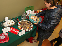 Cookie Swap at the Gilford Library.  Karen Bobotas for the Laconia Daily Sun