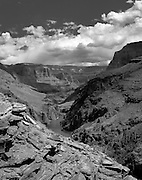 Overlooking the Grand Canyon above Deer Creek Falls, Colorado River mile 135, Grand Canyon National Park, Arizona, USA, 7 May 2008; Pentax 67II, Velvia