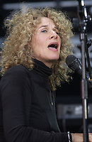 Carol King at United We Stand: What More Can I Give? Concert. A music benefit in support of the recovery efforts from the September 11 attack on America.  The proceeds will go to various Relief Funds. October 21, 2001 (Jeff Snyder)