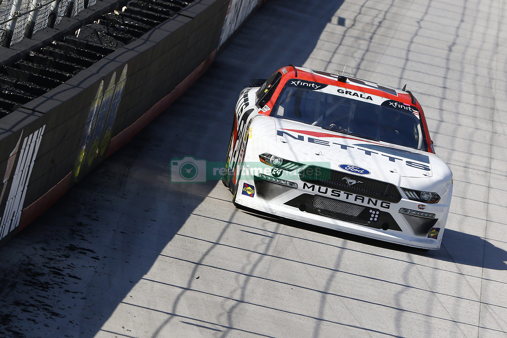 April 13, 2018 - Bristol, Tennessee, United States of America - April 13, 2018 - Bristol, Tennessee, USA: Kaz Grala (24) brings his car down the backstretch during final practice for the Fitzgerald Glider Kits 300 at Bristol Motor Speedway in Bristol, Tennessee. (Credit Image: © Chris Owens Asp Inc/ASP via ZUMA Wire)