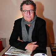 NLD/Amsterdam/20110913 - Lunch genomineerden voor John Kraaijkamp musicalawards 2011, Edwin de Vries