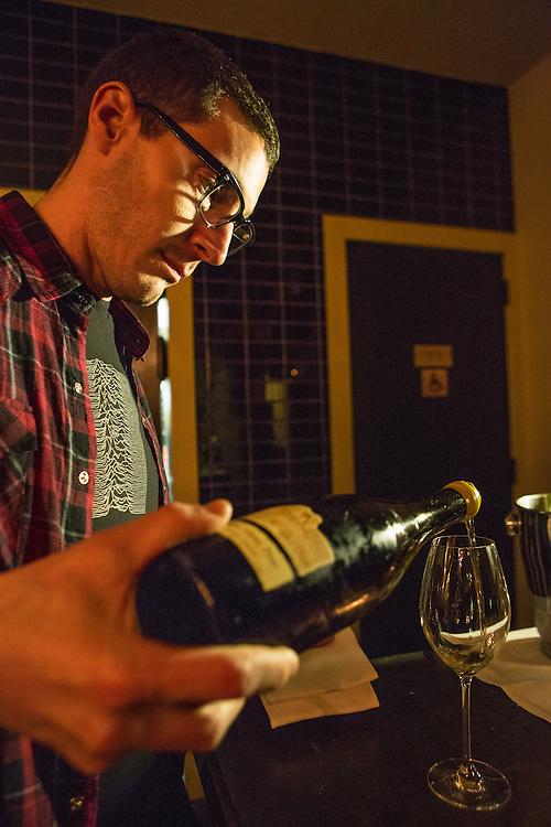 Wine Director Patrick Cappiello.