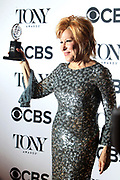 June 10, 2017-New York, New York-United States: Actress Bette Midler attends the 71st Annual Tony Awards Media Room held at Radio City on June 11, 2017 in New York City. The Tony Awards recognize achievement in Broadway productions during the 2016–17 season.  (Photo by Terrence Jennings/terrencejennings.com)