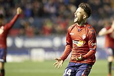 CA Osasuna Vs Granada CF - 03 Feb 2019
