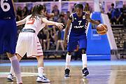 DESCRIZIONE : Udine U20 Campionato Europeo Femminile Finale 1-2 posto Spagna Francia European Championship Women Final 1-2 Place Spain France<br /> GIOCATORE : Olivia Epoupa<br /> CATEGORIA : Palleggio<br /> SQUADRA : Francia France<br /> EVENTO : Udine U20 Campionato Europeo Femminile Finale 1-2 posto Spagna Francia European Championship Women Final 1-2 Place Spain France<br /> GARA : Spagna Francia Spain France<br /> DATA : 13/07/2014<br /> SPORT : Pallacanestro <br /> AUTORE : Agenzia Ciamillo-Castoria/Max.Ceretti<br /> Galleria : Europeo Under 20 Femminile <br /> Fotonotizia : Udine U20 Campionato Europeo Femminile Finale 1-2 posto Spagna Francia European Championship Women Final 1-2 Place Spain France<br /> Predefinita :