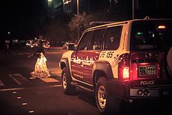 As patrulhas de trânsito da polícia de Abu Dhabi. FOTO: Jefferson Bernardes/Preview.com