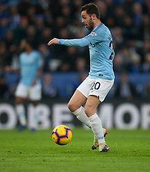 Bernardo Silva of Manchester City scores his sides first goal - Mandatory by-line: Jack Phillips/JMP - 26/12/2018 - FOOTBALL - King Power Stadium - Leicester, England - Leicester City v Manchester City - English Premier League