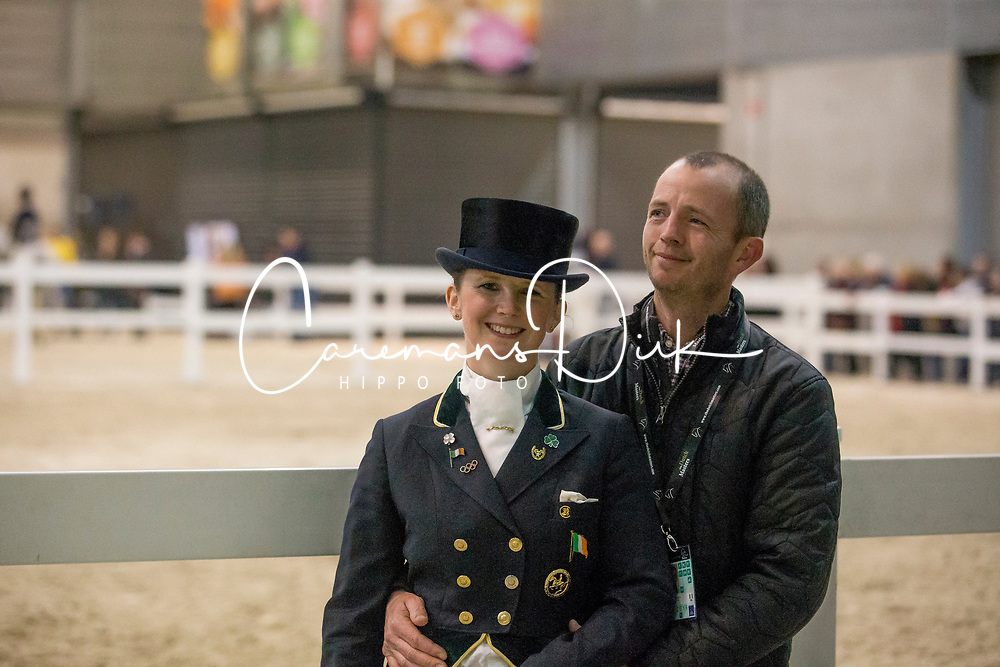 Reynolds Judy, IRL, Patrick Heavey<br /> FEI Dressage World Cup™ Grand Prix presented by RS2 Dressage - The Dutch Masters<br /> © Hippo Foto - Sharon Vandeput<br /> 14/03/19