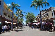 Downtown Honolulu's Chinatown district, Oahu, Hawaii