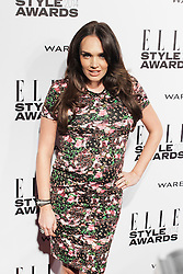 © Licensed to London News Pictures. 18/02/2014. London, UK. Tamara Ecclestone arrives on the red carpet for the Elle Style Awards on the Embankment in central London. Photo credit : Andrea Baldo/LNP