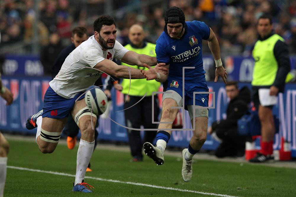 Parigi 09/02/2020 Stade de France<br /> Guinness 6 nations 2020 : Francia vs Italia <br /> Carlo Canna