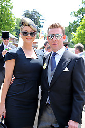NICK CANDY and HOLLY VALANCE at day 1 of the 2011 Royal Ascot Racing festival at Ascot Racecourse, Ascot, Berkshire on 14th June 2011.