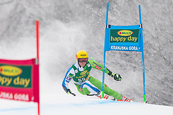 Stefan Hadalin of Slovenia during 1st run of Men's Giant Slalom race of FIS Alpine Ski World Cup 57th Vitranc Cup 2018, on 3.3.2018 in Podkoren, Kranjska gora, Slovenia. Photo by Urban Meglič / Sportida