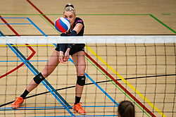 Michelle Koolen of Fast in action during the league match Laudame Financials VCN - FAST on January 23, 2021 in Capelle aan de IJssel.