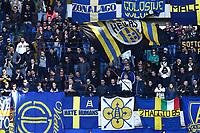 Tifosi Verona Supporters<br /> Verona 25-04-2016 Stadio Bentegodi Football Calcio Serie A 2015/2016 Hellas Verona - Milan Foto Matteo Gribaudi / Image Sport / Insidefoto