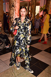 "Bel Powley at the opening of ""Frida Kahlo: Making Her Self Up"" Exhibition at the V&A Museum, London England. 13 June 2018."