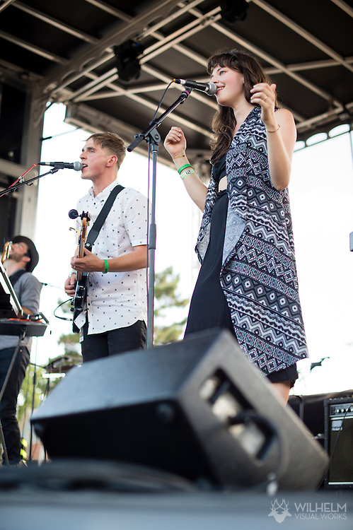 Inner Oceans performs at the Underground Music Showcase in Denver, CO, USA, on 26 July, 2015.
