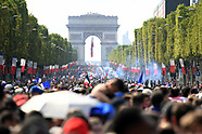 FOOTBALL - 2018 FIFA WORLD CUP RUSSIA - PARADE OF THE TEAM OF FRANCE ON CHAMPS-ELYSEES 160718