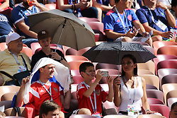 July 1, 2018 - Moscow, Russia - July 01, 2018, Russia, Moscow, FIFA World Cup 2018, the playoff round. Football match Spain - Russia at the stadium Luzhniki. Player of the national team viewers; fans; the fans..the fans.. ..the. (Credit Image: © Russian Look via ZUMA Wire)