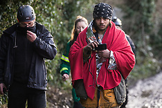 2020-01-16 Eviction of Stop HS2 Colne Valley wildlife protection camp