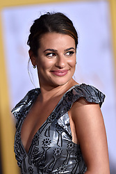 Lea Michele attends the Premiere of Warner Bros. Pictures' 'A Star Is Born' at the Shrine Auditorium on September 24, 2018 in Los Angeles, California. Photo by Lionel Hahn/AbacaPress.com