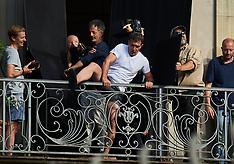 Antonio Banderas filming in Copenhagen - 16 June 2017