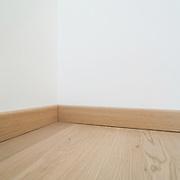 Interior, parquet floor of a modern house, copy space