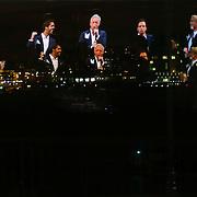 NLD/Amsterdam/20130121 - CD presentatie Geloof, Hoop en Liefde van LA the Voices, spiegeling